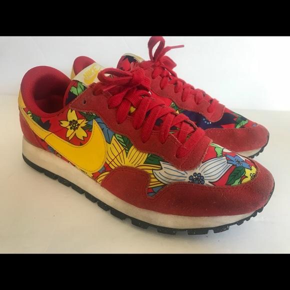 Cubo Mayo Infantil  Nike Shoes | Nike Air Pegasus 83 Print Aloha Running Shoes | Poshmark
